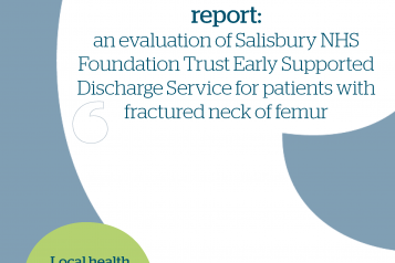 Early supported discharge femur report front cover