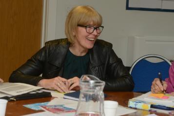 Healthwatch Wiltshire volunteer