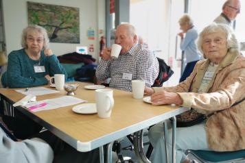 People at Chippenham Memory Cafe