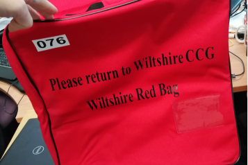 Red bag for care home residents going to hospital