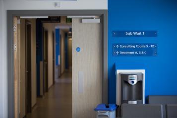 health centre corridor