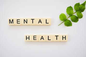 mental health in scrabble letters