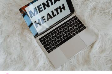 Review of online mental health support for children and young people front cover