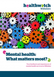 Mental Health report front cover